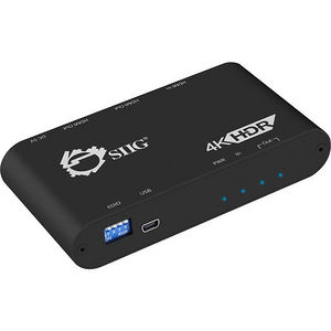 SIIG CE-H22X11-S1 1x2 HDMI 2.0 Splitter / Distribution Amplifier - Auto Video Scaling - 4K 60Hz HDR