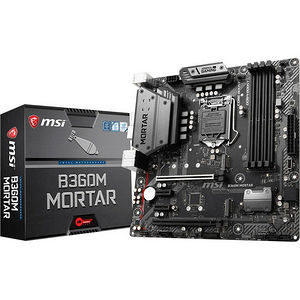 MSI B360MMOR B360M MORTAR Desktop Motherboard - Intel Chipset - Socket H4 LGA-1151