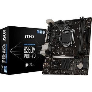 MSI B360MPROVD B360M PRO-VD Desktop Motherboard - Intel Chipset - Socket H4 LGA-1151