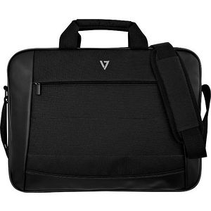 "V7 CTK16-BLK-9N Essential Carrying Case (Briefcase) for 16"" Document, Notebook, Accessories - Black"