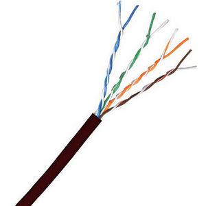 Comprehensive C5E350BLK-1000 Cat 5e 350MHz Solid Black Bulk Cable 1000ft