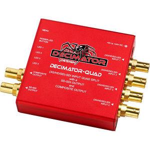 Decimator Design DD-DEC-QUAD Quad 3G/HD/SD-SDI Quad Split Multi-Viewer