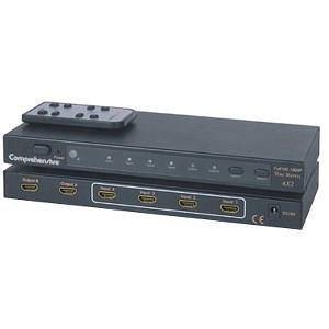 Comprehensive CSW-HD420 HDMI 4x2 Digital Switcher