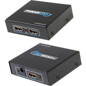 Comprehensive CDA-HD200EC HDMI 1 x 2 Splitter UHD 4K CDA - HD200EC