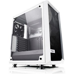 Fractal Design FD-CA-MESH-C-WT-TGC Meshify C White - TG Mid-Tower Computer Case
