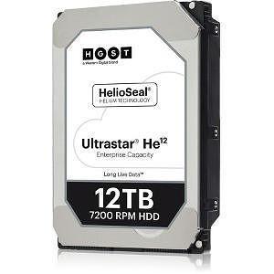 """HGST 0F30143 Ultrastar He12 4KN SE HUH721212ALN604 12 TB SATA 3.5"""" 7200 RPM 256 MB Cache Hard Drive"""