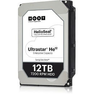"""HGST 0F29563 Ultrastar He12 4KN CP FIPS HUH721212A4205 12 TB 3.5"""" SAS 7200RPM 256MB Hard Drive"""