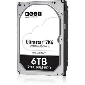 "HGST 0B36049 Ultrastar 7K6 512E TCG HUS726T6TAL5201 6 TB SAS 3.5"" 7200 RPM 256 MB Cache Hard Drive"