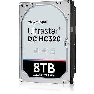 """HGST 0B36400 Ultrastar 7K8 512E SE HUS728T8TAL5204 8 TB SAS 3.5"""" 7200 RPM 256 MB Cache Hard Drive"""