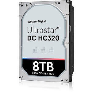 "HGST 0B36406 Ultrastar 7K8 512E TCG HUS728T8TAL5201 8 TB SAS 3.5"" 7200 RPM 256 MB Cache Hard Drive"