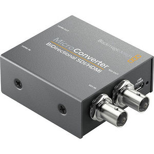 Blackmagic Design CONVBDC/SDIHDWPSU Micro Converter - BiDirectional SDI/HDMI with Power Supply
