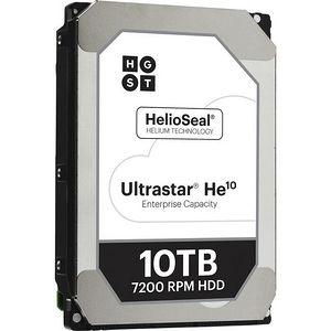 "HGST 0F27605 Ultrastar He10 512E SED HUH721010ALE601 10 TB SATA 3.5"" 256MB Cache 7200RPM Hard Drive"