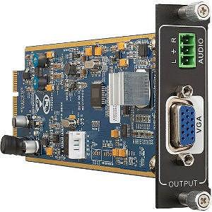 KanexPro FLEX-OUT-VGA Flex-Seamless one input VGA card w/audio input