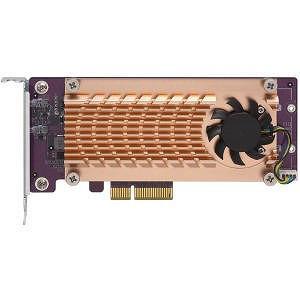 QNAP QM2-2P-244A Dual M 2 22110/2280 PCIe SSD Expansion Card