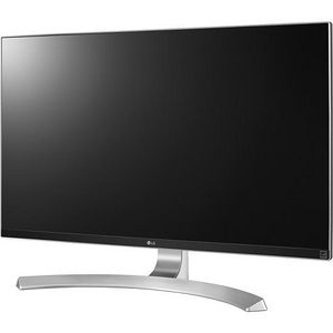 "LG 27UD88-W 27"" 4K UHD LED LCD Monitor - 16:9 - Textured Black, Silver Spray, High Glossy White"