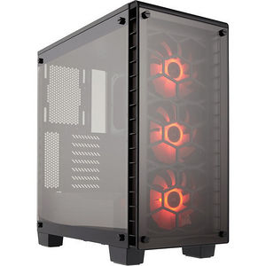 Corsair CC-9011101-WW Crystal Series 460X RGB Compact ATX Mid-Tower Case
