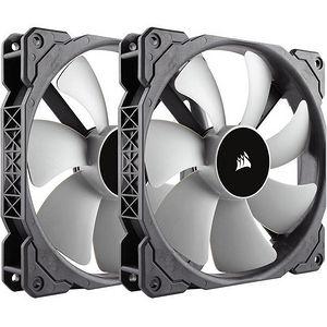 Corsair CO-9050044-WW Air ML140 140mm Cooling Fan - Twin Pack