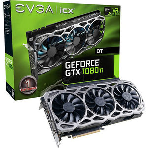EVGA 11G-P4-6694-KR GeForce GTX 1080 Ti Graphic Card - 1.48 GHz Core - 11 GB GDDR5X - Dual Slot