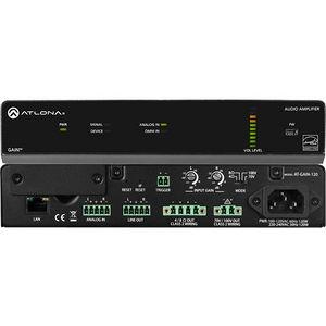 Atlona AT-GAIN-120 GAIN-120: Stereo / Mono Power Amplifier – 120 Watts