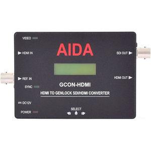AIDA GCON-HDMI HDMI to Genlock SDI/HDMI Converter