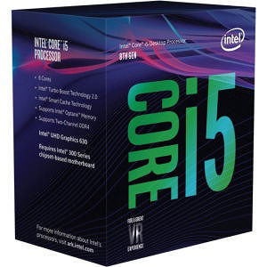 Intel CM8068403358811 Core i5 i5-8400 6 Core 2.80 GHz Processor - Socket H4 LGA-1151 - OEM