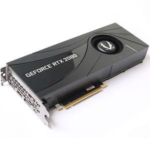 ZOTAC ZT-T20800A-10P GeForce RTX 2080 Blower Graphic Card 8GB GDDR6, 256-bit