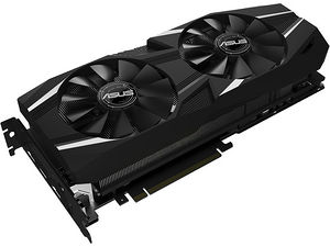 ASUS DUAL-RTX2080-O8G GeForce RTX 2080 O8G Dual-fan OC Edition Graphic Card 8 GB GDDR6