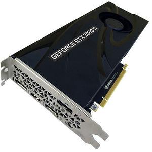 PNY VCG2080T11BLMPB GeForce RTX 2080 Ti Blower Graphic Card 11 GB