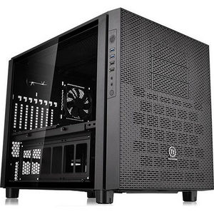 Thermaltake CA-1E8-00M1WN-02 Core X5 Tempered Glass Edition Cube Case - Cube - Black