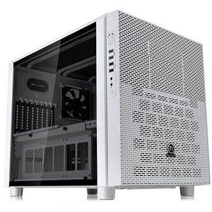Thermaltake CA-1E8-00M6WN-00 Core X5 Tempered Glass Snow Edition Cube Case - Cube - White