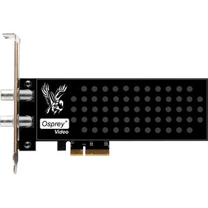 Osprey 95-00498 925 - Dual 3G SDI, Second Input programmable as Loopout