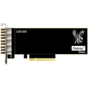 Osprey 95-00516 1285 - Dual 12G SDI + 6x 3G SDI, I/O, Genlock, Combined 36G Input Bandwidth limit