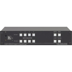 Kramer 20-801220190 4x2 4K60 4:2:0 HDMI Automatic Matrix Switcher