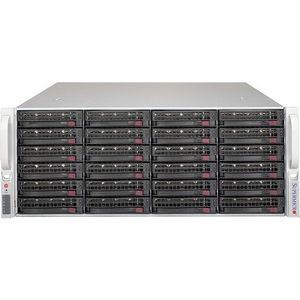 Supermicro CSE-846BE1C-R1K03JBOD Drive Enclosure - 4U Rack-mountable - Black