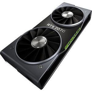 NVIDIA 900-1G160-2550-000 RTX 2070 Founders Edition 8 GB GDDR6 Graphics Card