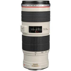 Canon 1258B002 EF 70-200MM F/4L IS USM w/ case LP1224 & lens hood ET-74