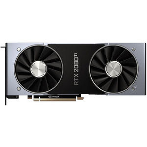 NVIDIA 900-1G150-2530-000 GeForce RTX 2080 Ti Founders Edition Graphic Card - 11 GB GDDR6