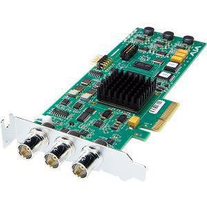 AJA CORVID 4-lane PCIe card, HD / SD SDI I/O, Genlock/LTC, 16-Ch embedded audio, RS-422