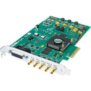 AJA CORVID 22 4-lane PCIe card, 2-in/2-out HD/SD/3G SDI