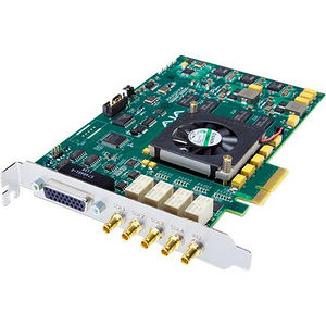 AJA CORVID 24 4-lane PCIe card, 4-in/4-out or single 4K/3G/HD/SD SDI I/O