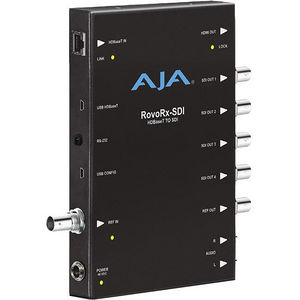 AJA ROVORX-SDI UltraHD/HD HDBaseT Receiver to 6G/3G-SDI and HDMI