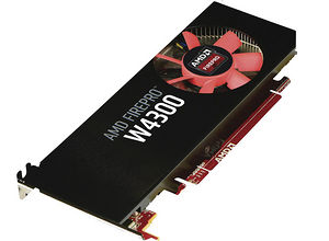 AMD 100-505935 FirePro W4300 4 GB GDDR5 Graphic Card - Low Profile