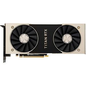 NVIDIA 900-1G150-2500-000 Titan RTX 24 GB GDDR6 - PCIe 3.0 x16 - Dual Slot - Graphics Card