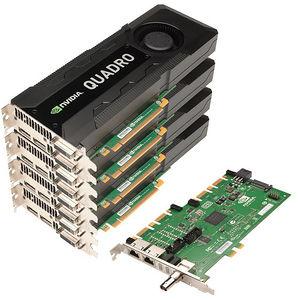 PNY VCQK5000SYNC-4K5KIT Quad Quadro K5000 Graphic Card - 4