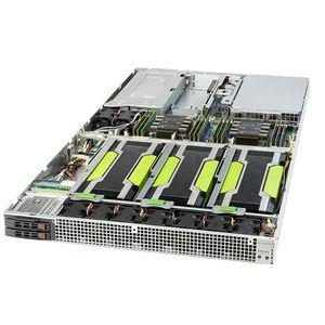 Supermicro SYS-1029GQ-TRT 1U Rackmount Barebone - Intel C621 - 2X LGA-3647 - Supports 4X GPU