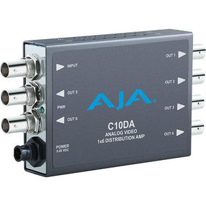 AJA C10DA Analog Video 1x6 Distribution Amplifier