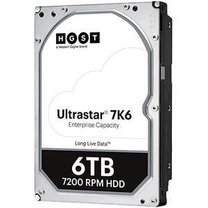 """HGST 0B36039 Ultrastar 7K6 512E SE HUS726T6TALE6L4 6 TB SATA 3.5"""" 7200 RPM 256 MB Hard Drive"""