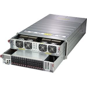 Supermicro SYS-4028GR-TVRT 4U Barebone - Intel C612 - 2X Socket R3 LGA-2011 - 8X V100 SXM2 GPU