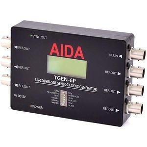 AIDA TGEN-6P 3G-SDI/HD-SDI Tri-Level Genlock Sync Generator