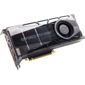 EVGA 08G-P4-2080-KR GeForce RTX 2080 Graphic Card - 1.71 GHz Boost Clock - 8 GB GDDR6 - Dual Slot